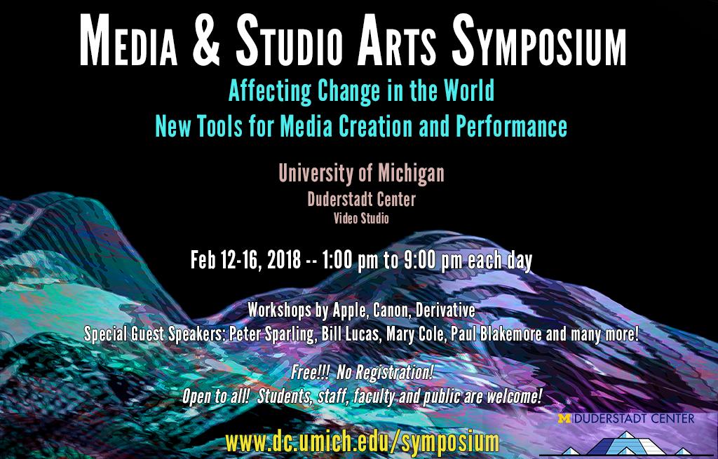 2018 Media & Studio Arts Symposium