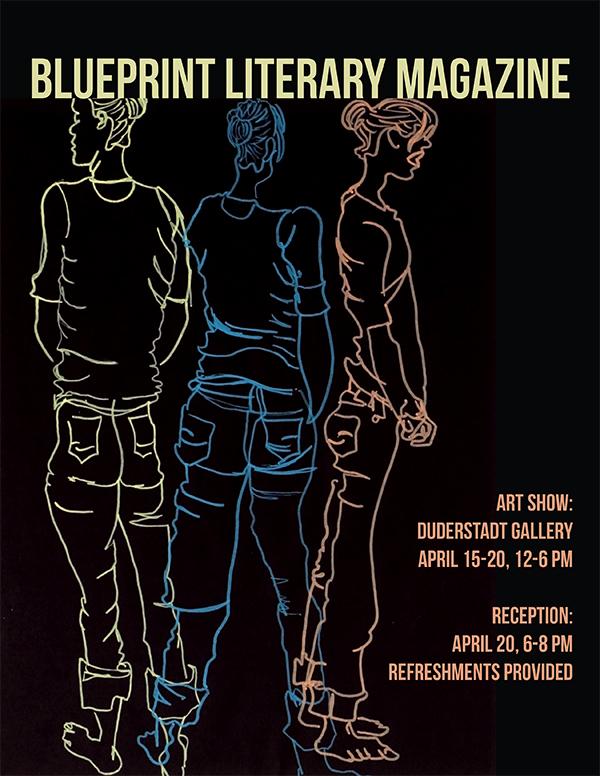 Blueprint literary magazine celebrate creativity duderstadt center blueprint literary magazine celebrate creativity malvernweather Images